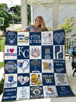 Mlb – Kansas City Royals 25 Quilt Blanket