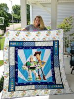 Toy Story Quilt Blanket