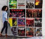 Ratt Album Covers Quilt Blanket 01