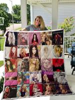 Shakira Albums Quilt Blanket