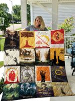 Lord Of The Rings Quilt Blanket 0560