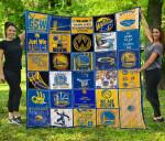 Nba Golden State Warriors Quilt Blanket