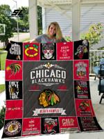 Nhl – Chicago Blackhawks Quilt Blanket