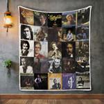 Gordon Lightfoot Album Covers Quilt Blanket