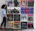 Ramones Compilations Albums Quilt Blanket