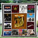 Aerosmith Albums Quilt Blanket