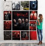 Red Band Albums Quilt Blanket For Fans Ver 13