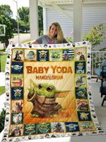 Baby Yoda Star Wars All Season Plus Size Quilt Blanket Ver 5