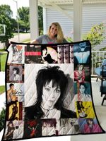 Joan Jett Quilt Blanket