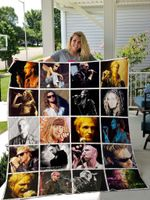 Layne Staley Quilt Blanket For Fans