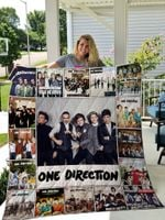 One Direction Singles Quilt Blanket New Arrival