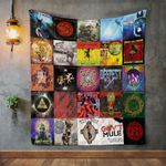 Gov'T Mule Style 2 Album Covers Quilt Blanket