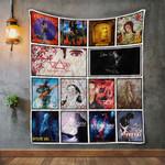 Steve Vai Album Covers Quilt Blanket
