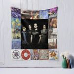 Gin Blossoms Quilt Blanket