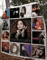 Janet Jackson Albums Quilt Blanket 01