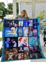 Frozen Quilt Blanket 01
