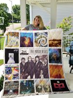 The Moody Blues Albums Quilt Blanket