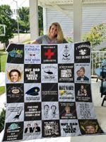 Step Brothers Quilt Blanket