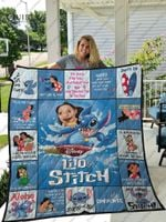 Lilo &Amp; Stitch Quilt Blanket For Fans Ver 17