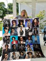 Lenny Kravitz Quilt Blanket 01261