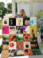 Nina Simone Albums Quilt Blanket For Fans Ver 25