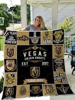 Nhl – Vegas Golden Knights 17 Quilt Blanket