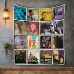 George Jones Album Covers Quilt Blanket