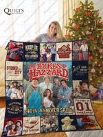 Mofi – The Dukes Of Hazzard Quilt Blanket Ver 1