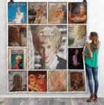 Tammy Wynette Albums Quilt Blanket 02