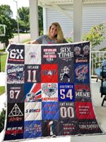 New England Patriots Quilt Blanket 01