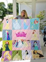 All Disney Princesses Quilt Blanket