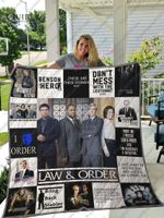 Law &Amp; Order T-Shirt Quilt Blanket