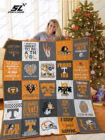 Bl – Tennessee Volunteers Quilt Blanket Ver 03