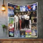 Cusco Album Covers Quilt Blanket