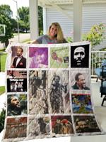 Marvin Gaye Albums Quilt Blanket 01