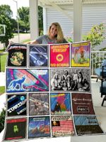 Jefferson Starship Quilt Blanket