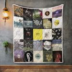 Arcade Fire Album Covers Quilt Blanket