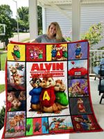 Alvin And The Chipmunks Quilt Blanket 01