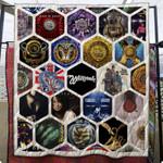 Whitesnake Quilt Blanket