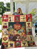 The Book Of Life Quilt Blanket For Fans Ver 17