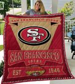 San Francisco 49ers Quilt Blanket