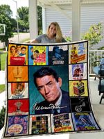 Gregory Peck Quilt Blanket 01