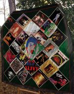 Best Live Albums Of The 70s Quilt Blanket