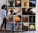 Jackson Browne Best Album Quilt Blanket 01