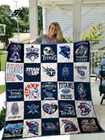 Tennessee Titans Quilt Blanket 02