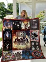 Kiss End Of The Road World Tour_02 Quilt Blanket