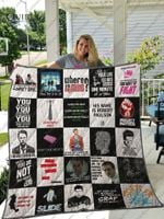 Fight Club T-Shirt Quilt Blanket Ver25