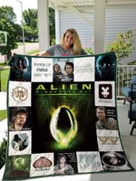 Alien Quilt Blanket For Fans Ver17
