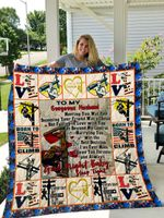 The Lineman – To My Husband – Love Wife Quilt Blanket
