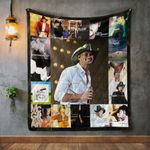 Tim Mcgraw Style 2 Album Covers Quilt Blanket